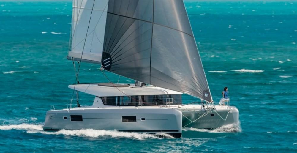 Catamaran for rent Saint-Georges at the best price