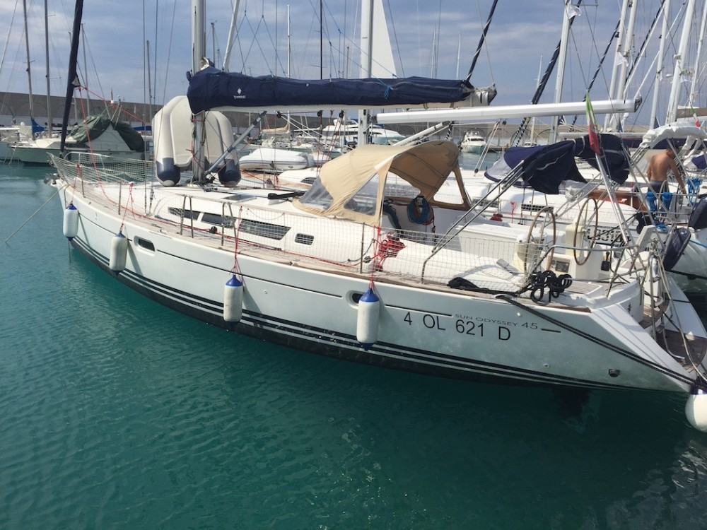 Jeanneau Sun Odyssey 45 between personal and professional Rosignano Marittimo