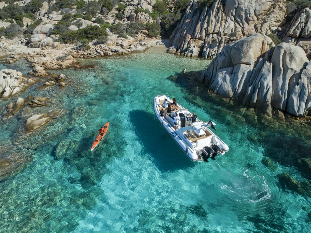 Boat rental Bwa Bwa 34 Premium in La Maddalena on Samboat