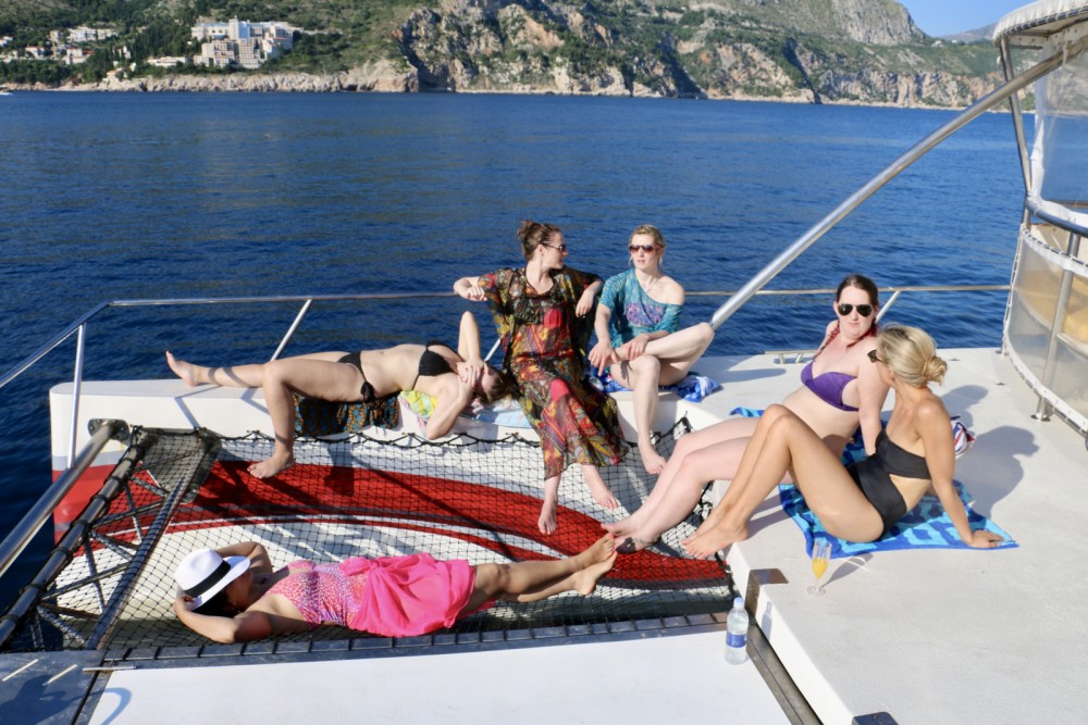Monte Marine Yachting Cat 17 Party between personal and professional Cavtat