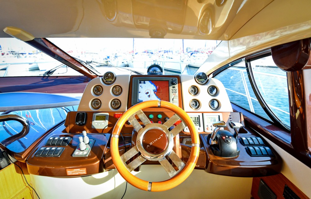 Hire Motor boat with or without skipper Azimut Dubrovnik