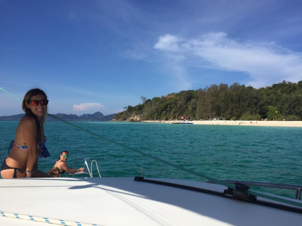 Hire Catamaran with or without skipper Catamaran Leopard Phuket