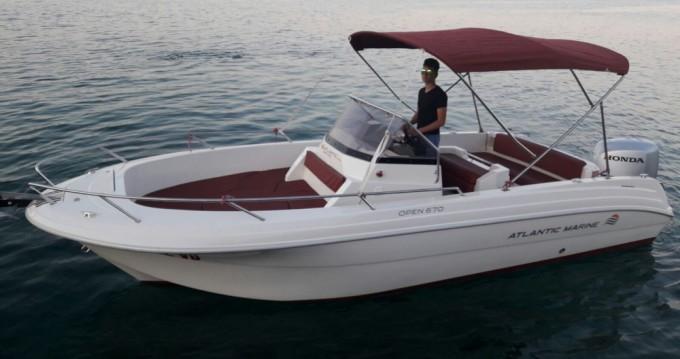 Atlantic open 670 between personal and professional Tribunj
