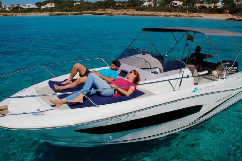 Rental Motor boat in Tribunj - Jeanneau Cap Camarat 7.5 WA
