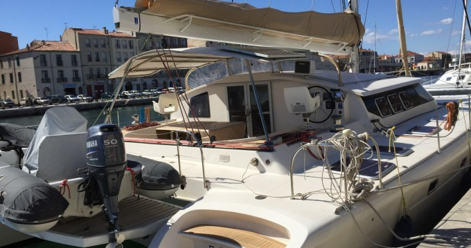 Fountaine Pajot Marquises 56 between personal and professional Ajaccio