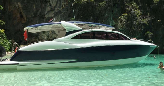 Hire Motorboat with or without skipper OCEAN LOVE Phuket