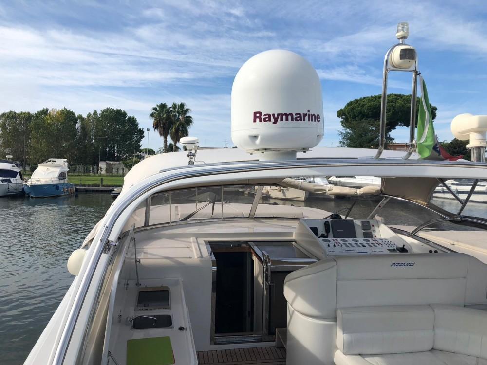 Rental Yacht in Terracina - Rizzardi Top line 50