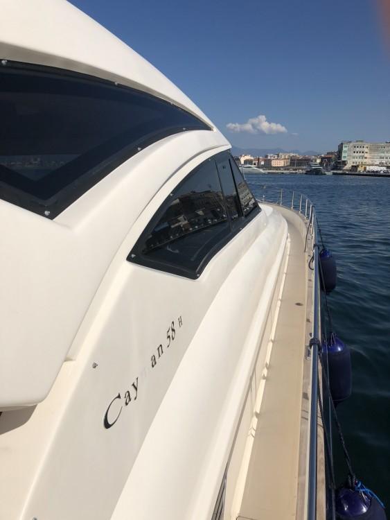 Boat rental Castellammare di Stabia cheap Cayman 58 ht walk araound