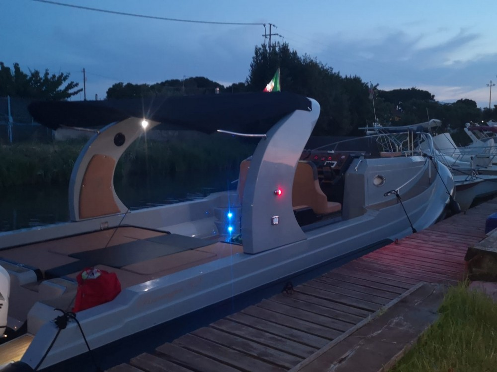Hire RIB with or without skipper Revenger Terracina