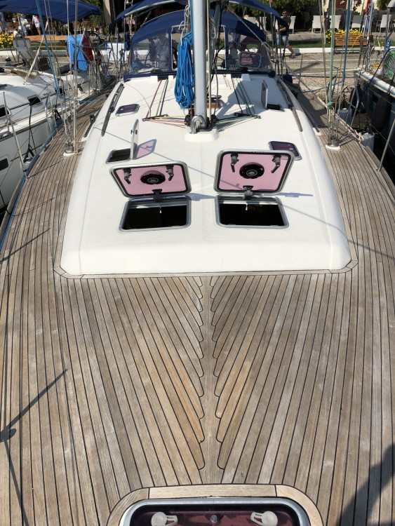 Dufour 455 Grand Large between personal and professional La Ciotat