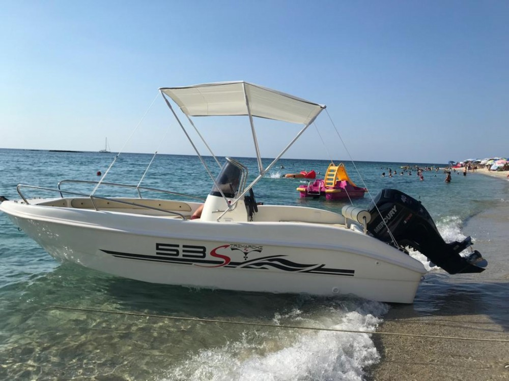 Hire Motor boat with or without skipper Open trimarchi Ricadi