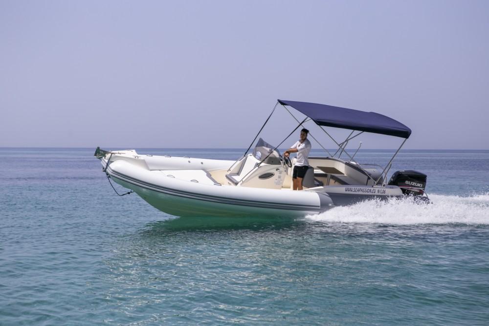 Boat rental Ricadi cheap MAESTRALE 8,20 MT