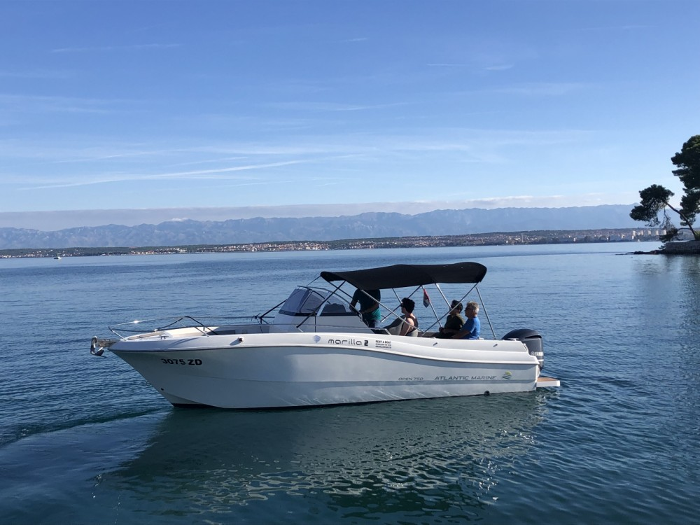 Atlantic 730 Sun Cruiser between personal and professional Grad Zadar