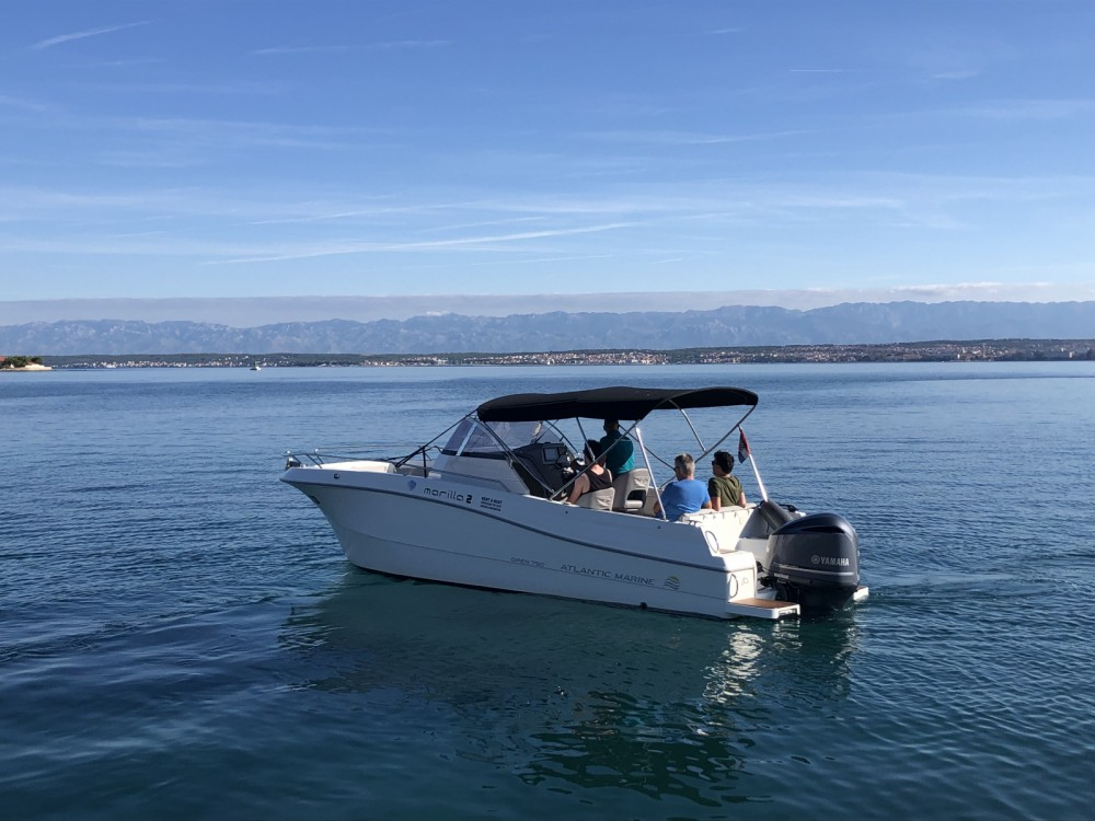 Rental Motorboat Atlantic with a permit