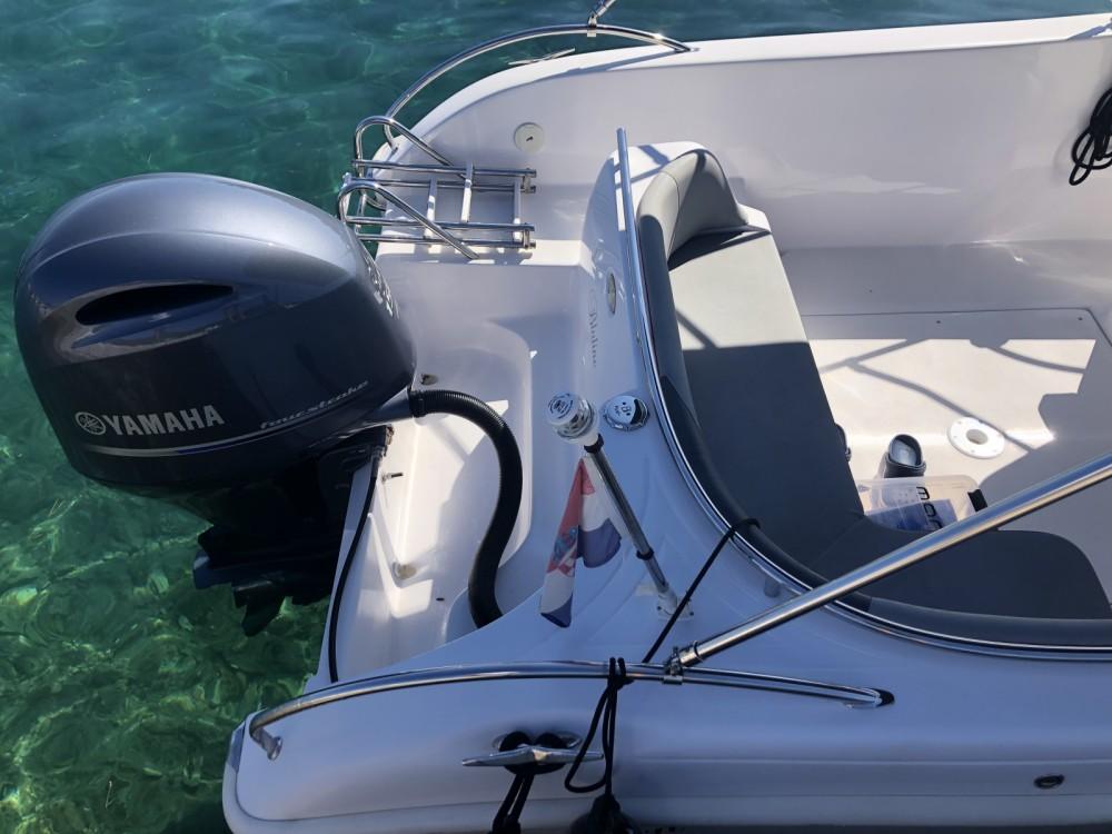 Boat rental Zadar cheap 21 Open