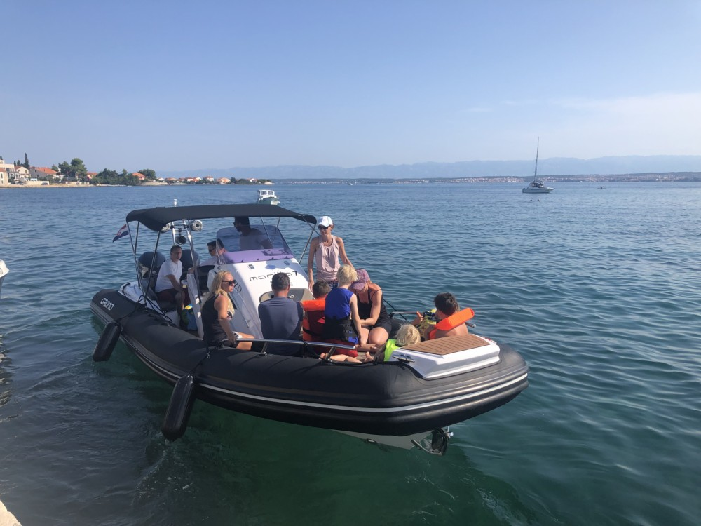 RIB for rent Zadar at the best price