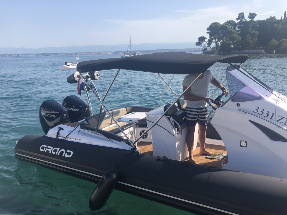 Hire RIB with or without skipper Grand Boats Zadar