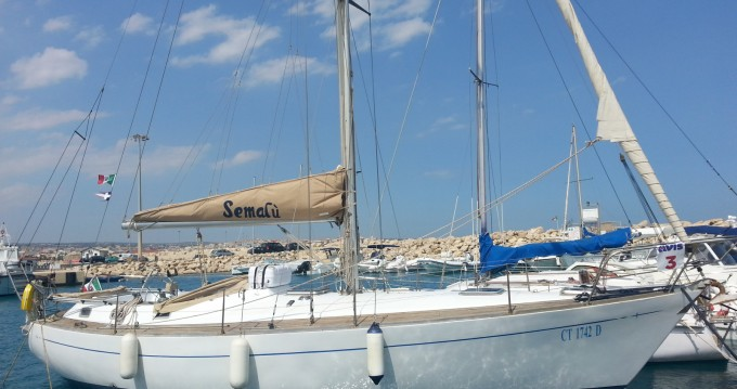 Hire Sailboat with or without skipper C&C Marzamemi