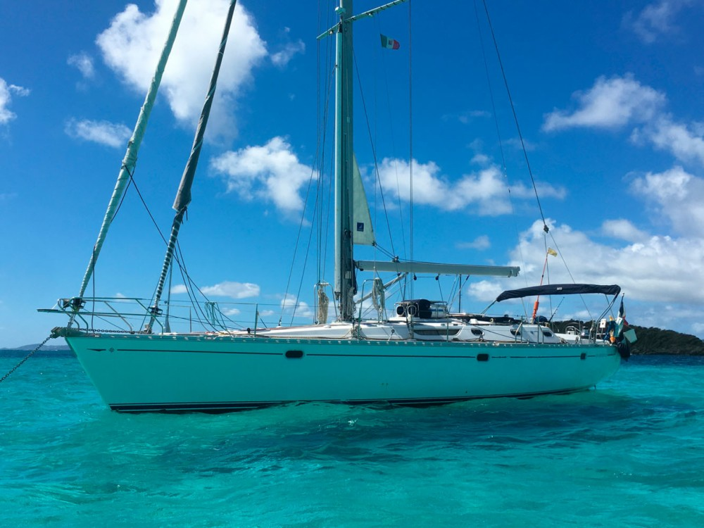 Jeanneau Sun Odyssey 52.2 between personal and professional Cannigione