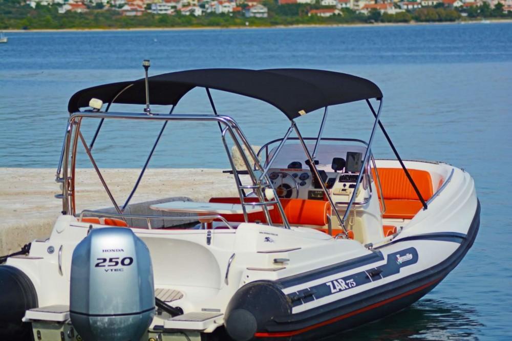 Hire RIB with or without skipper Zar Formenti Tribunj