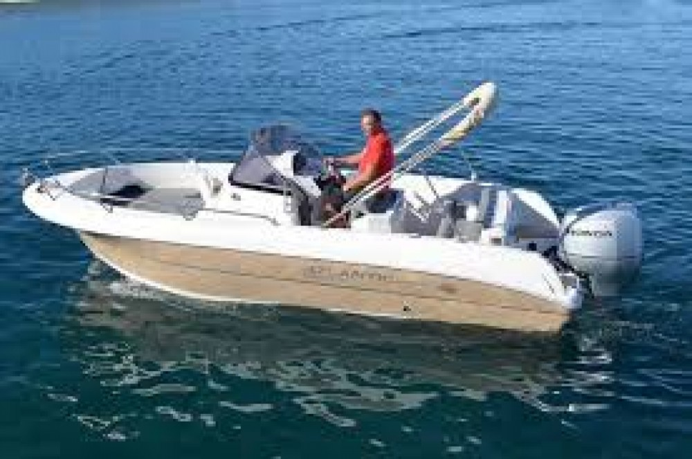 Motor boat for rent Tribunj at the best price