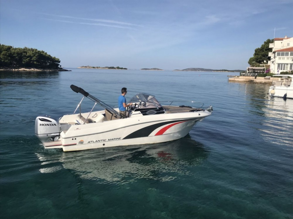 Hire Motor boat with or without skipper Atlantic Tribunj