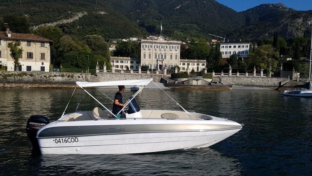 Boat rental Tullio-Abbate Sea star open 21 in Tremezzo on Samboat