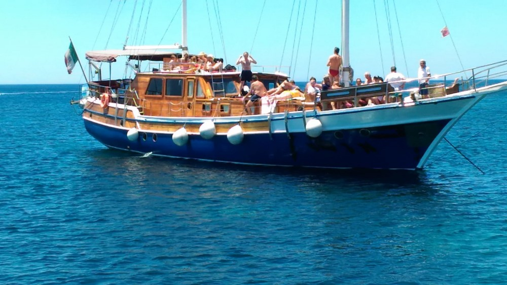 Boat rental Trapani cheap Caicco