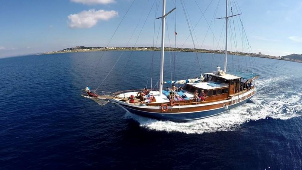 Hire Sailboat with or without skipper Hasan Aliboyererol Oztabak Shipyard Trapani