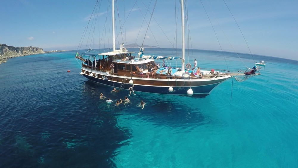 Rental yacht Trapani - Hasan Aliboyererol Oztabak Shipyard Caicco on SamBoat