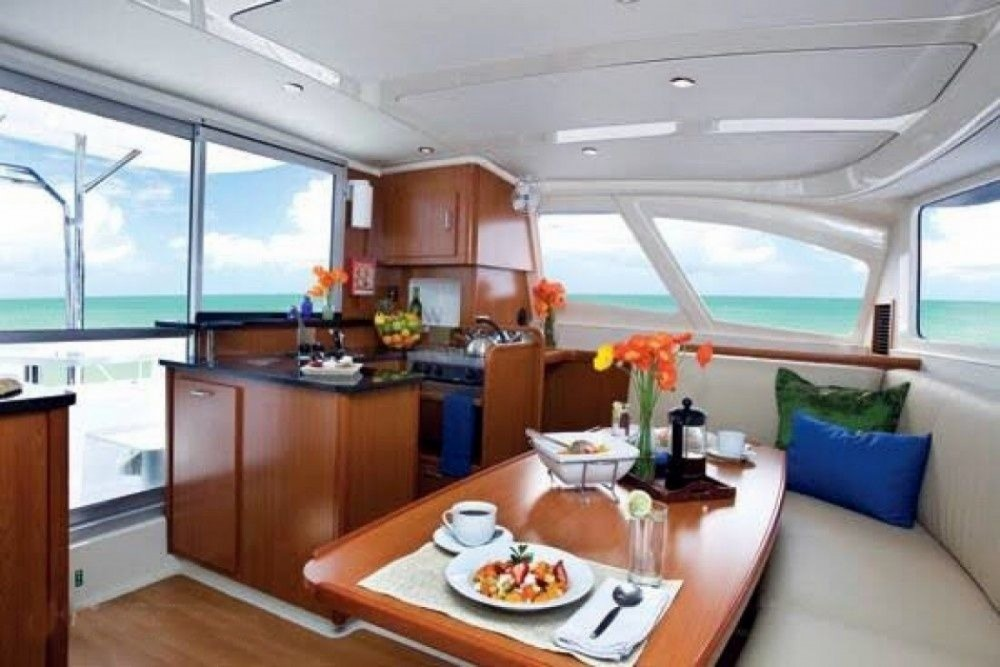 Rental Catamaran in Phuket - Catamaran Leopard 384
