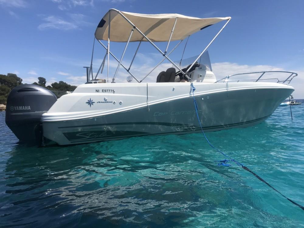 Rental yacht Antibes - Jeanneau Cap Camarat 6.5 CC on SamBoat