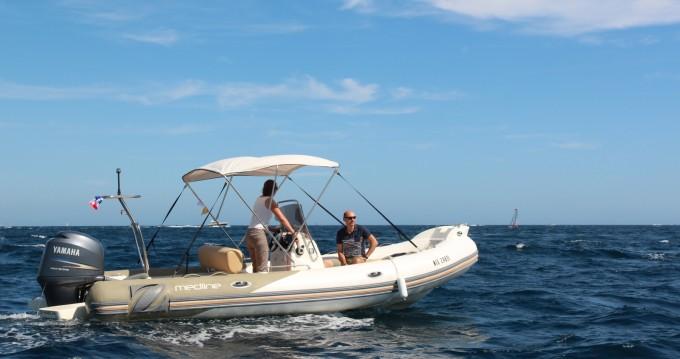 Boat rental Mandelieu-la-Napoule cheap Medline 650
