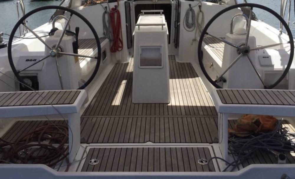 Rental Sailboat in Marigot - Bénéteau Oceanis 38 Weekender