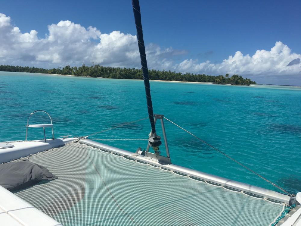 Hire Catamaran with or without skipper Nautitech Uturoa
