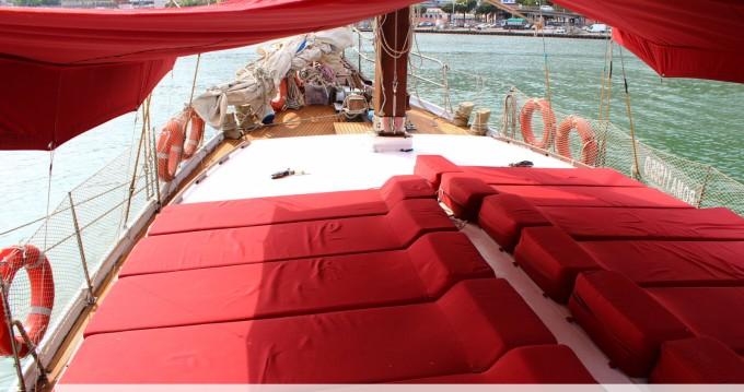 Rental Sailboat in Formia - goletta caicco