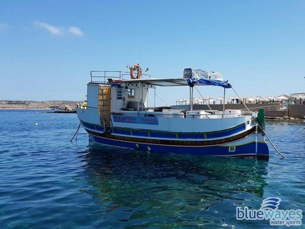 Hire Motor boat with or without skipper fisherman Mtarfa
