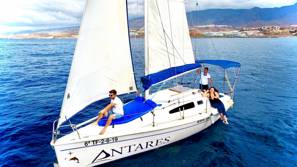 Rental Sailboat Astraea with a permit
