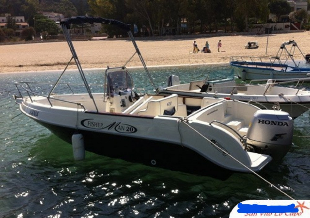 Cantiere Mimi Fisherman 20 between personal and professional San Vito Lo Capo