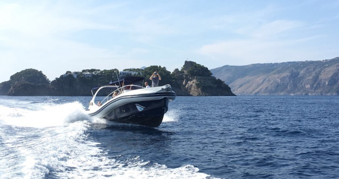 Rental RIB in Salerno - Scanner 999 WA