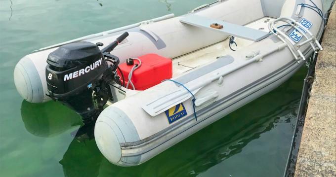 Rental yacht Genève - Zodiac cadet 310 RIB  on SamBoat