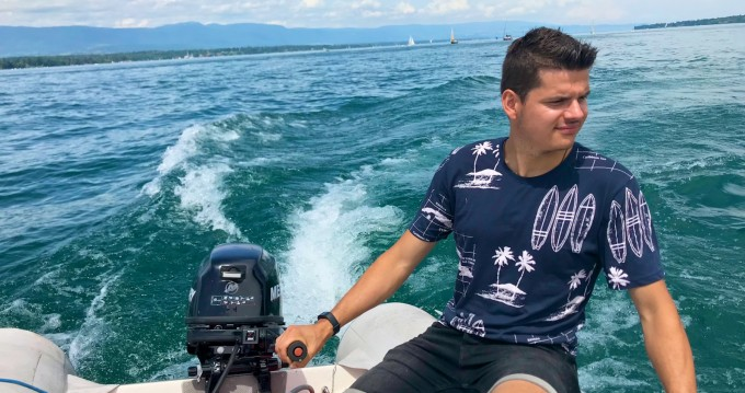 Hire RIB with or without skipper Zodiac Genève