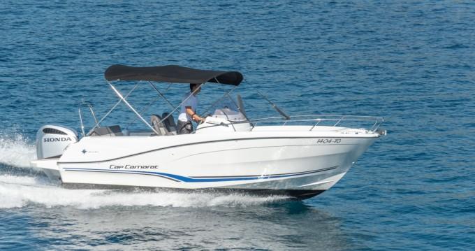 Boat rental Trogir cheap Cap Camarat 6,5