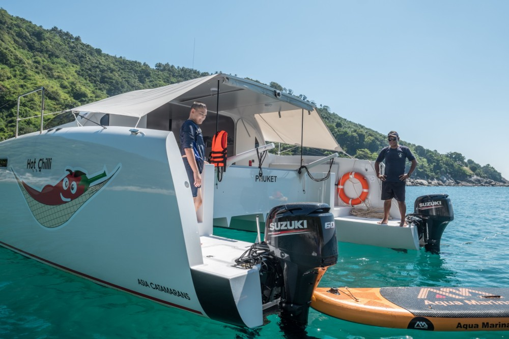 Stealth 38  Power Cat between personal and professional Mueang Phuket
