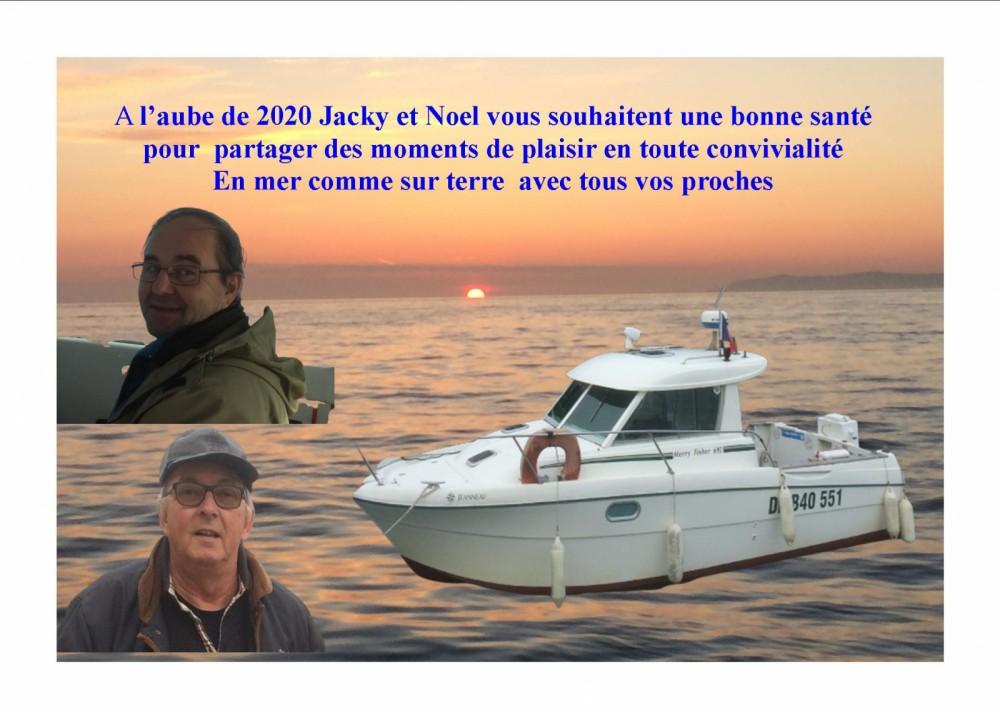Rental Motor boat in Boulogne-sur-Mer - Jeanneau Merry Fisher 695