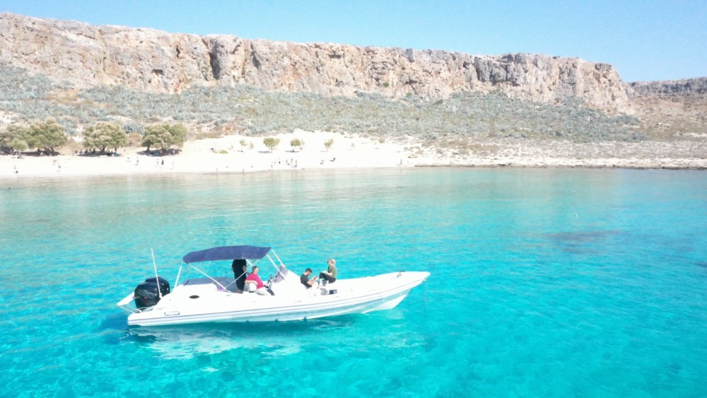 Hire RIB with or without skipper Skipper Kissamos