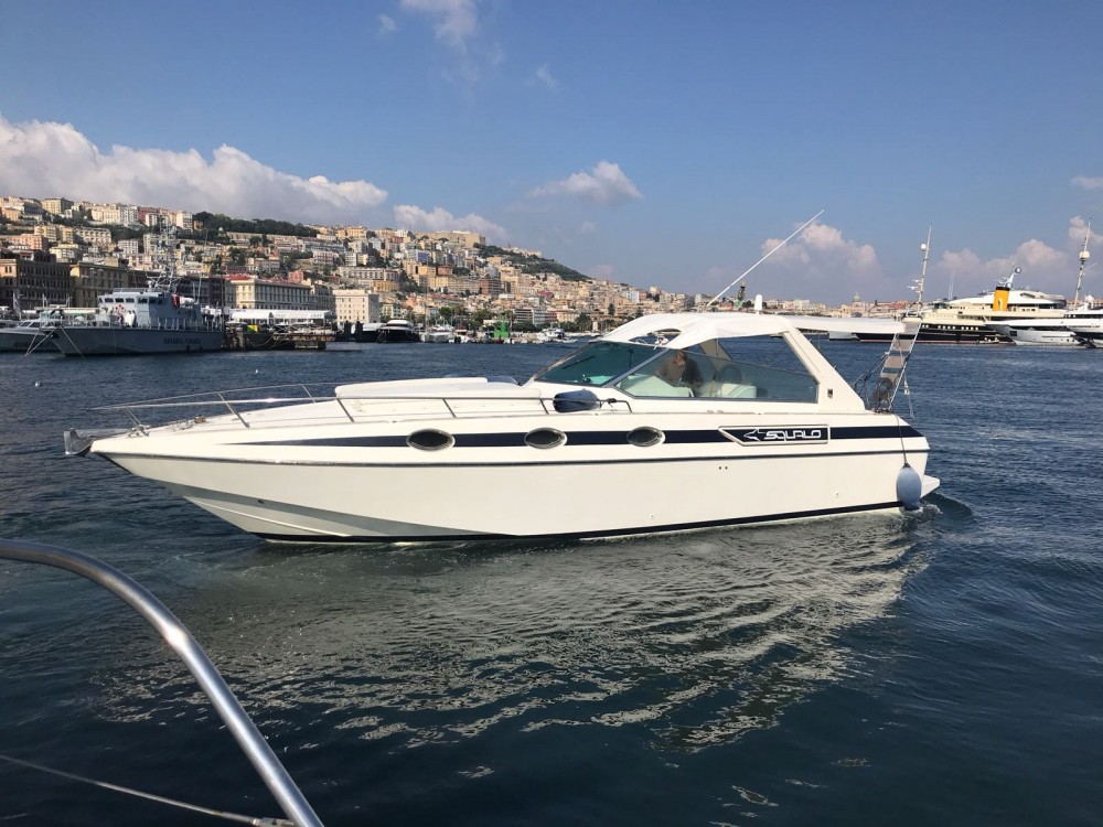 Rental Motor boat Squalo with a permit