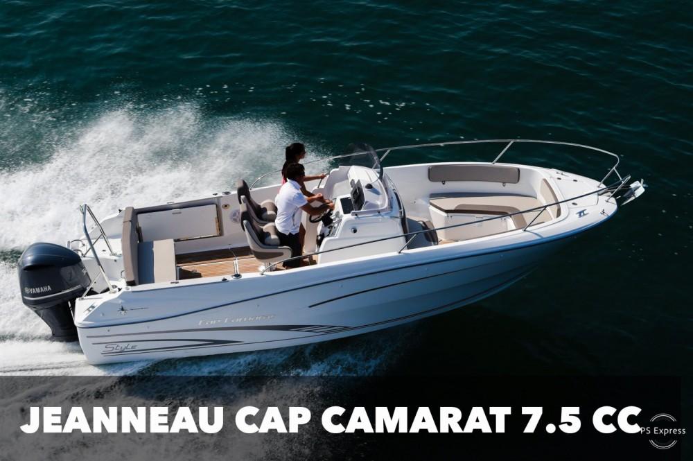 Boat rental Makarska cheap Cap Camarat 7.5 CC