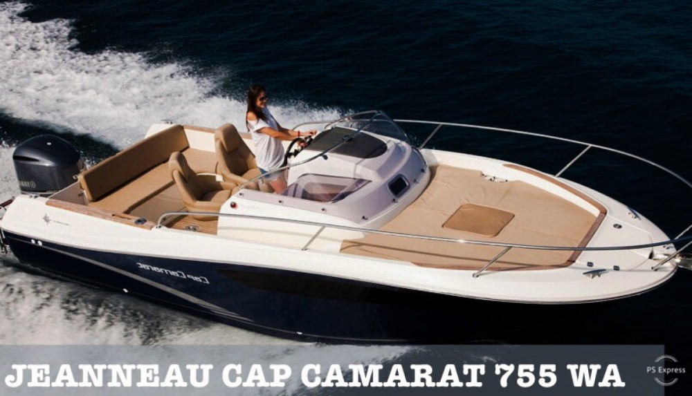 Rental yacht Makarska - Jeanneau Cap Camarat 7.5 WA on SamBoat