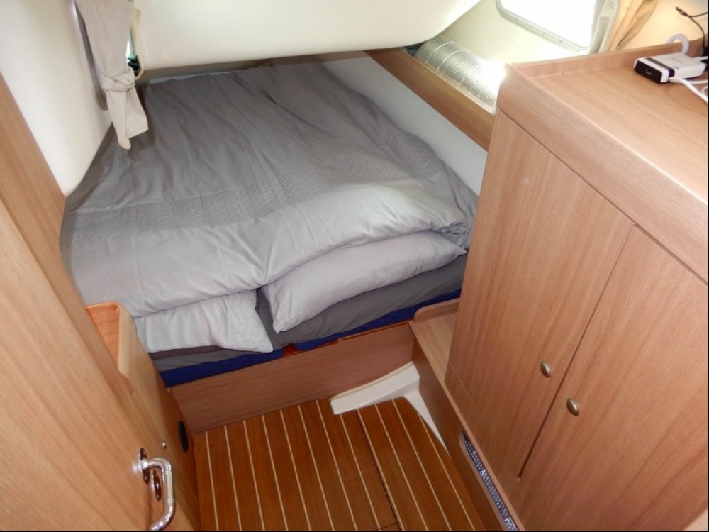 Jeanneau Sun Odyssey 42i between personal and professional Karaca